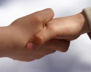 Vertragsabschluss, Handschlag